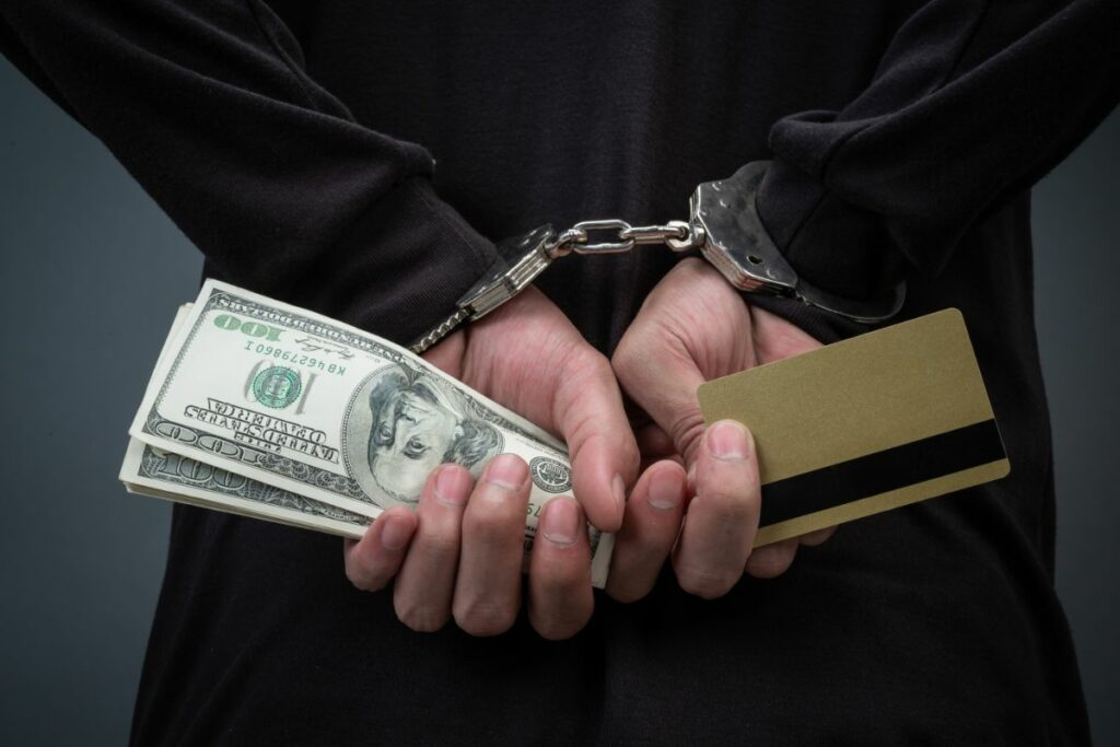 Handcuffs & Money