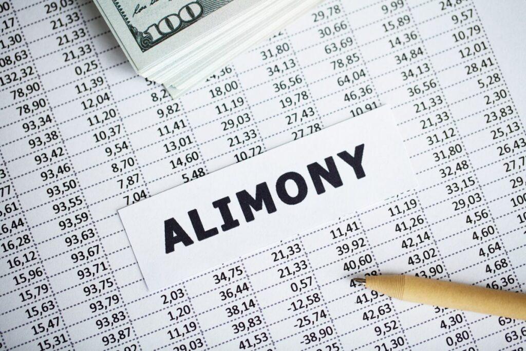 Alimony Document